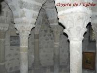 La crypte de l'église