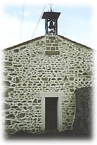 Maison de béate du village de Vaures